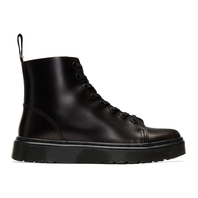 Dr. Martens Black Talib High-Top Sneakers