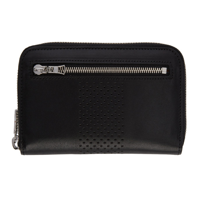 Image of Master-Piece Co Black Vand Zip Wallet