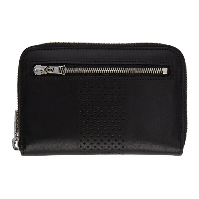 Image of Master-Piece Co Black Vand Zip Wallet