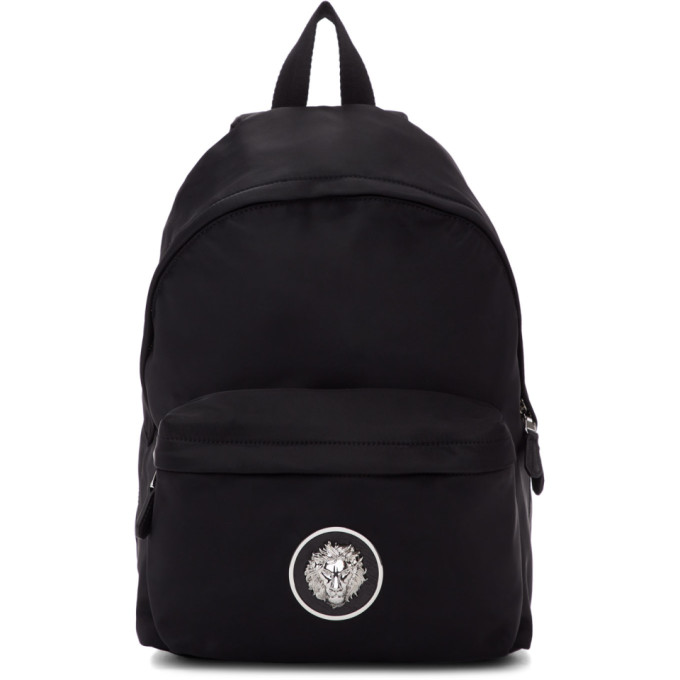 Versus Black Nickel Backpack