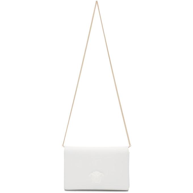 Versace White Palazzo Sultan Bag