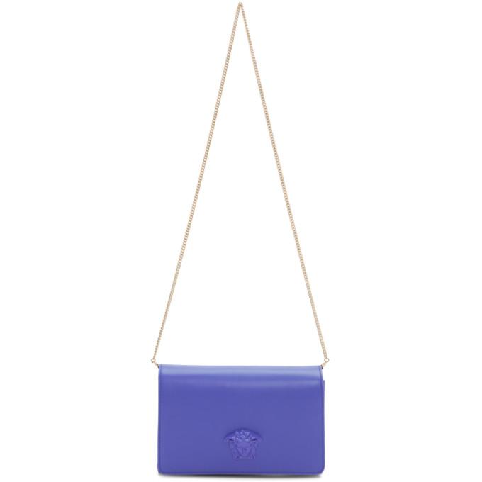 Versace Blue Palazzo Sultan Bag
