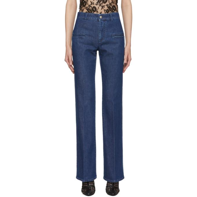 Image of Altuzarra Blue Serge Jeans