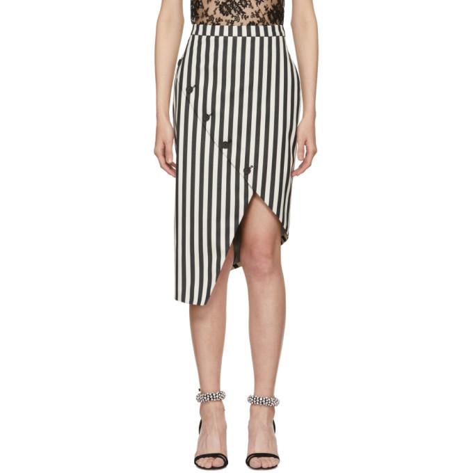 Image of Altuzarra Black & White Paul Bert Skirt