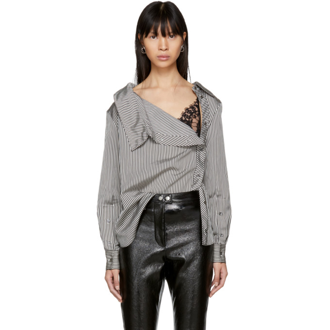 Image of Altuzarra Black & White Eileen Shirt