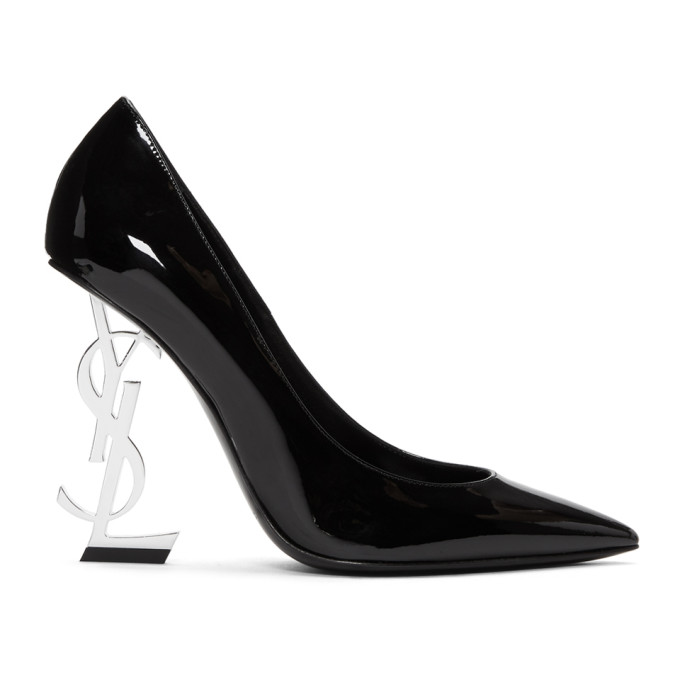Saint Laurent Black Opyum Heels