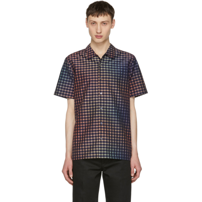 Ps By Paul Smith Purple Gingham Shirt