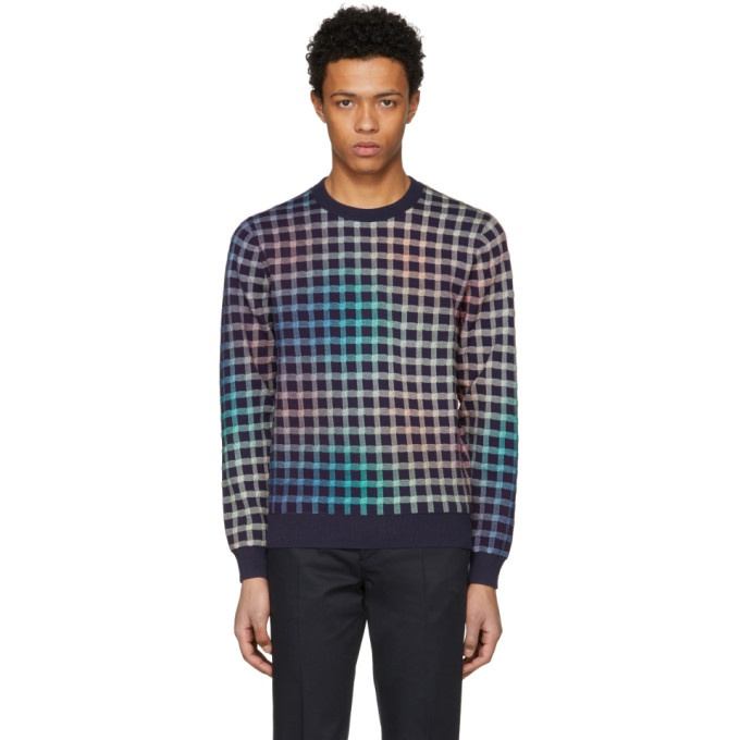 Ps By Paul Smith Multicolor Gingham Sweater