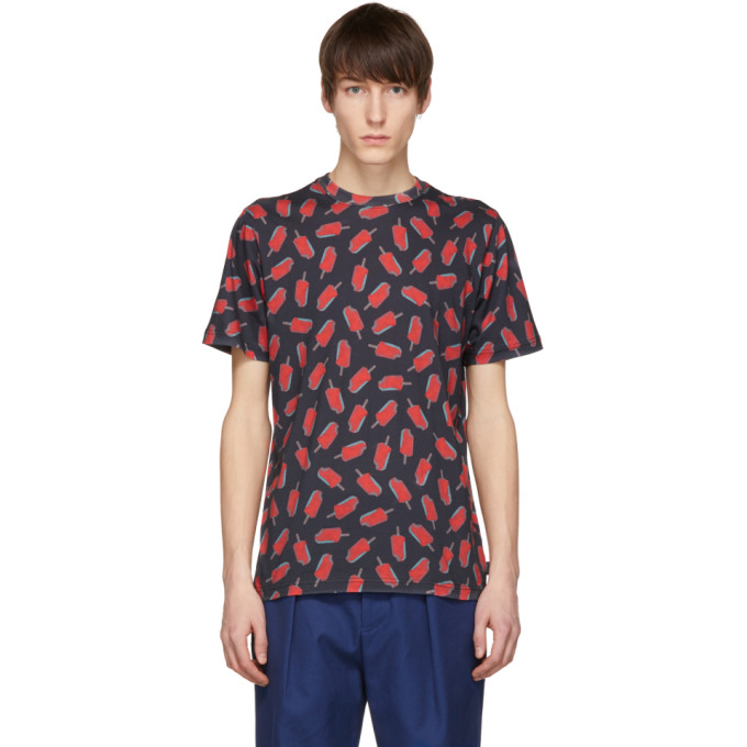 Ps By Paul Smith Black Popsicle T Shirt