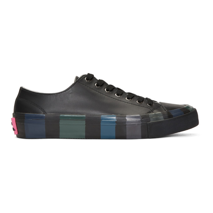 Ps By Paul Smith Black Nolan Sneakers