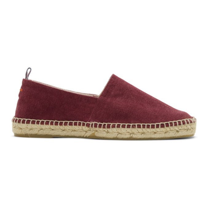 Image of Castañer Red Canvas Pablo Espadrilles