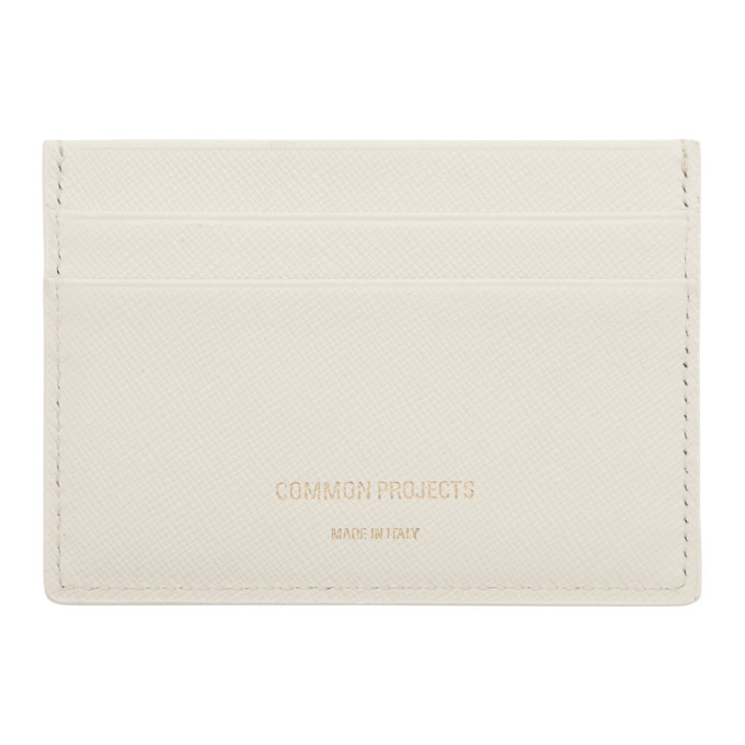 Woman by Common Projects Porte-cartes blanc Multi