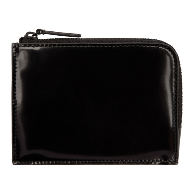 Image of Woman by Common Projects Black Zipper Coin Pouch