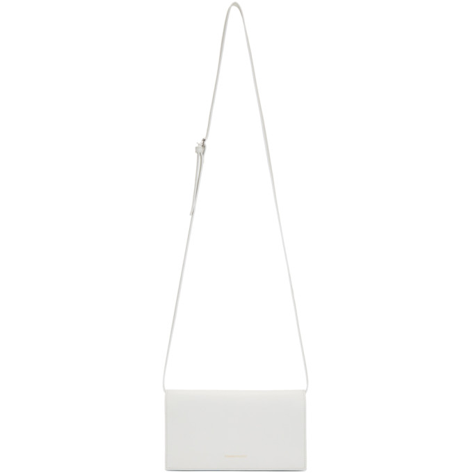 Woman by Common Projects Off-White Pochette Shoulder Bag