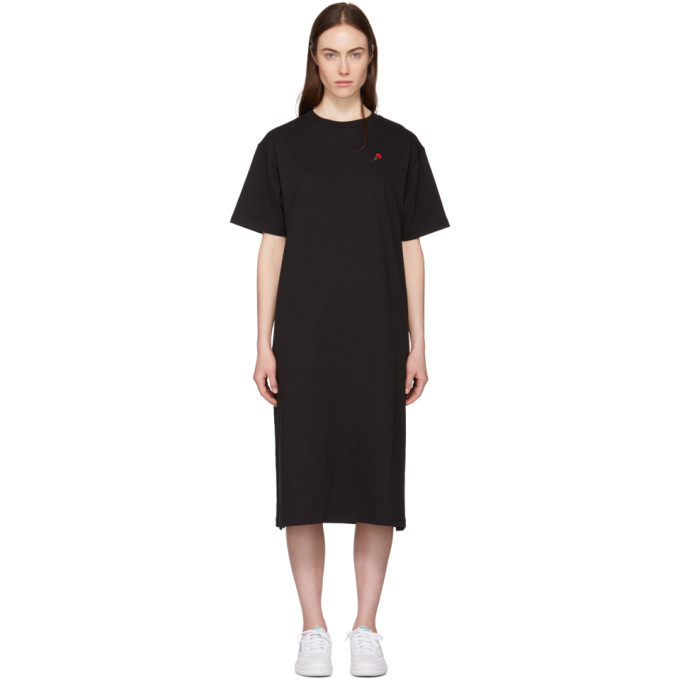 Image of 6397 Black Rose T-Shirt Dress