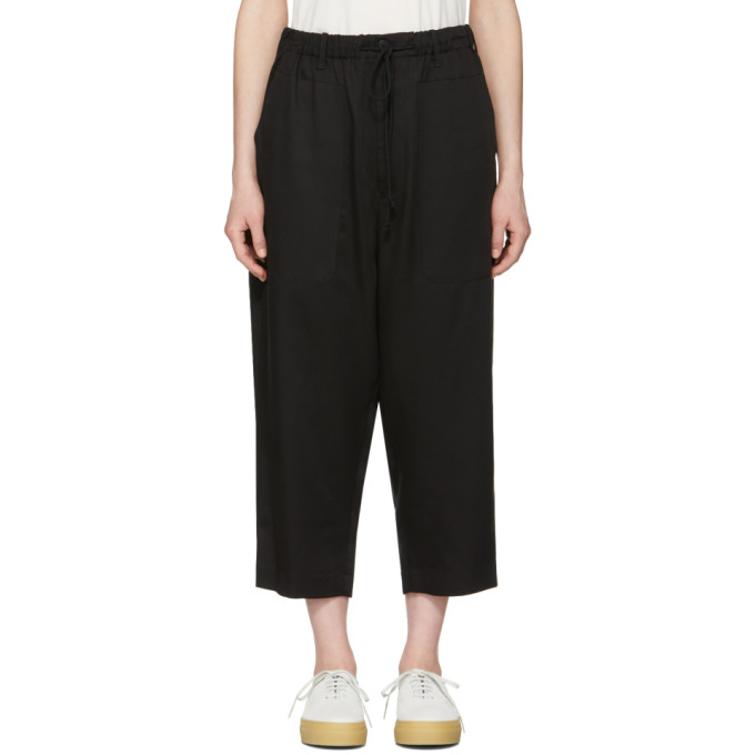Image of 6397 Black Drawstring Trousers