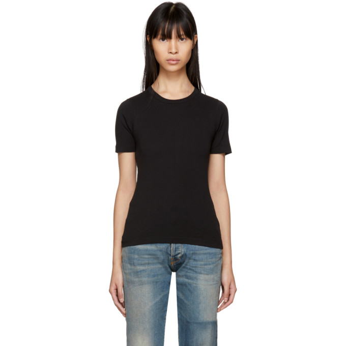 Image of 6397 Black Tight T-Shirt