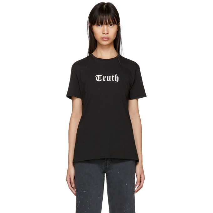 Image of 6397 Black 'Truth' Boy T-Shirt