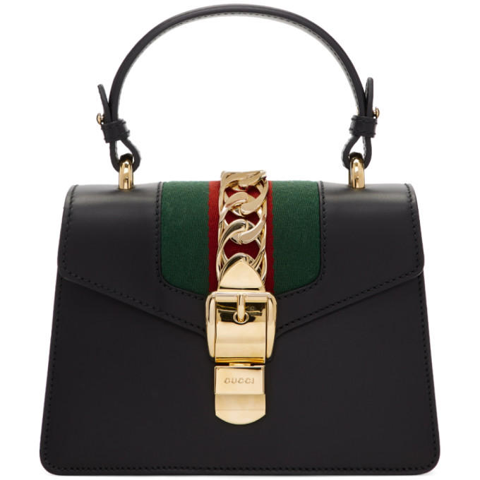 Gucci Black Mini Sylvie Bag