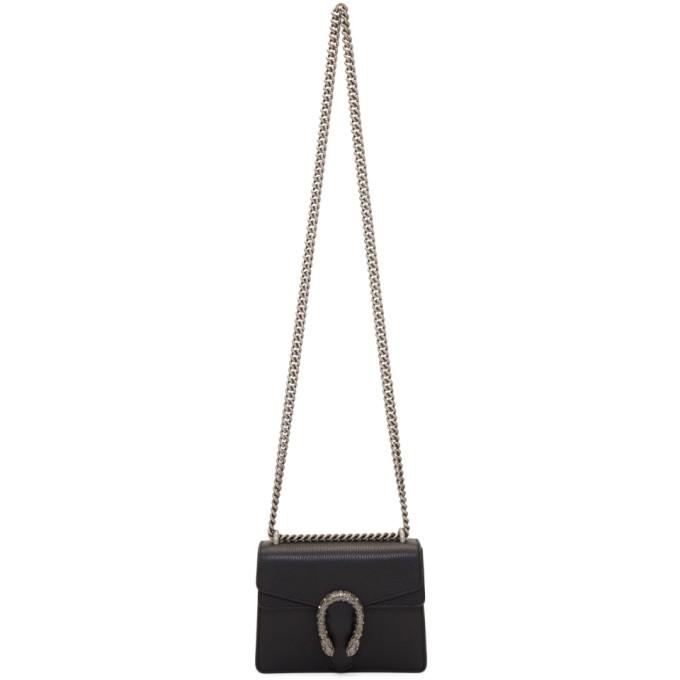 Gucci Black Mini Dionysus Bag