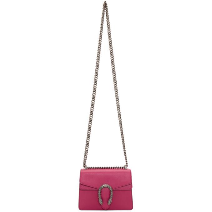 Gucci Pink Mini Dionysus Bag