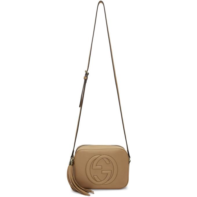 Gucci Tan Small Soho Camera Bag
