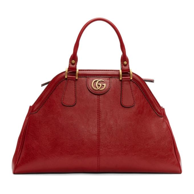 Gucci Red Medium Ophidia Bag