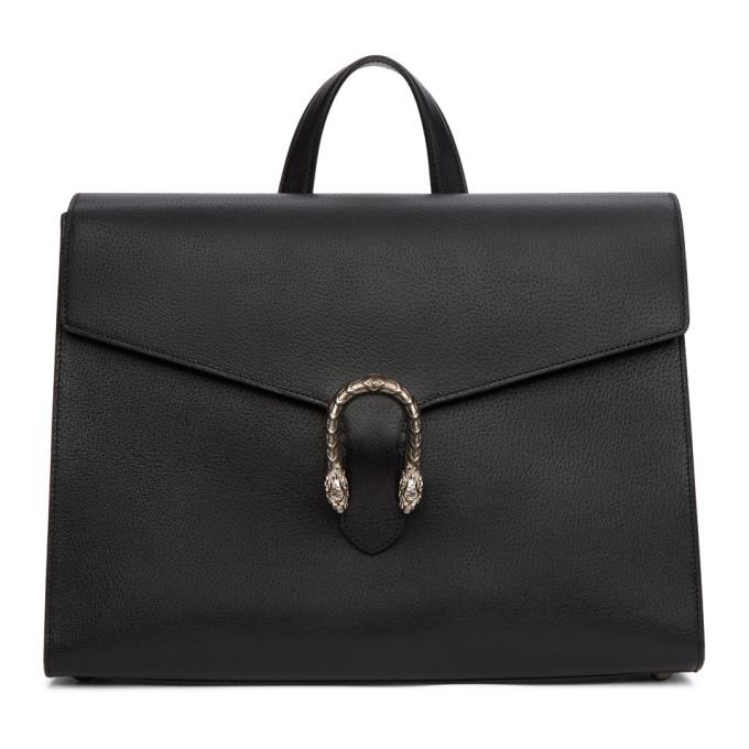 Gucci Black Dionysus Briefcase