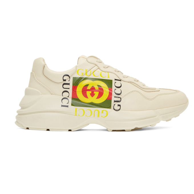 Gucci Off-White 'Gucci Cube' Rhyton Sneakers