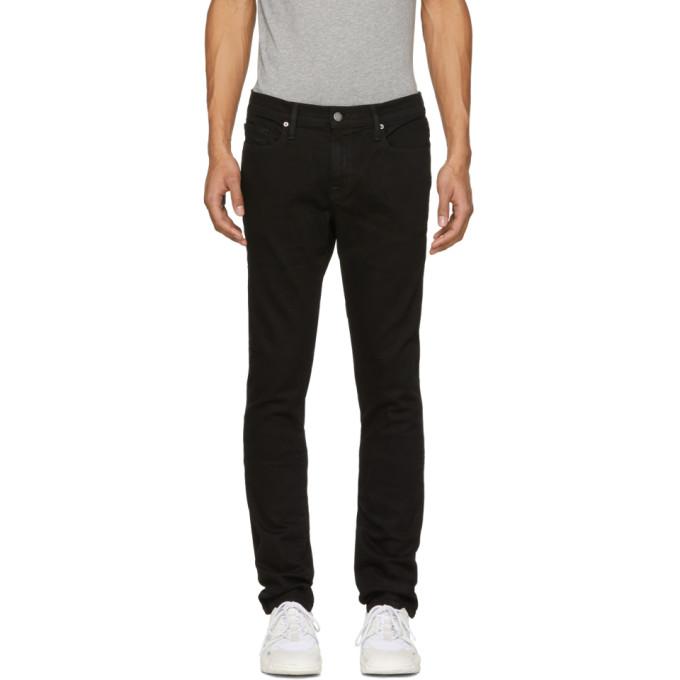 Frame Black 'l'homme' Skinny Jeans