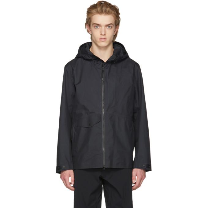Image of Nanamica Black Gore-Tex® Cruiser Jacket