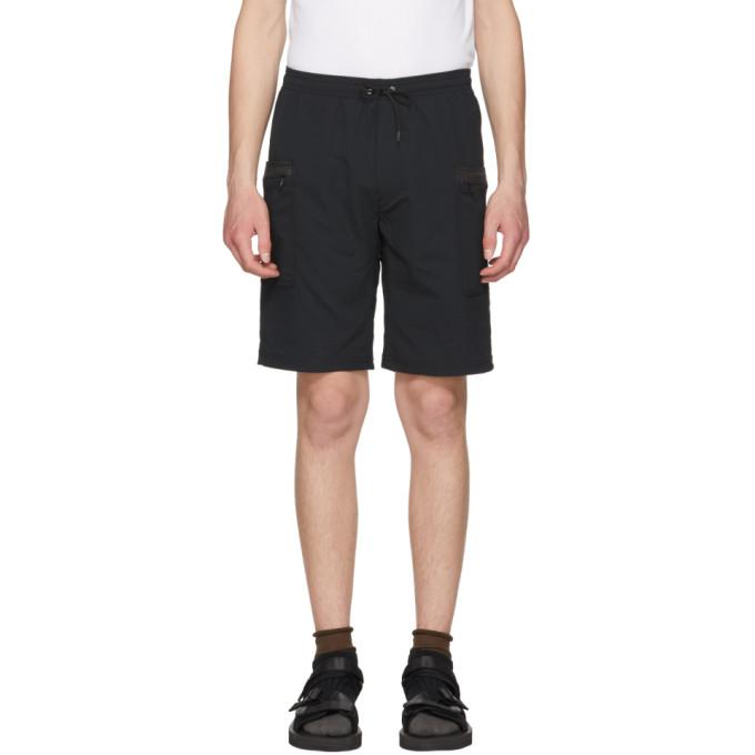 Image of Nanamica Black Alphadry Easy Shorts