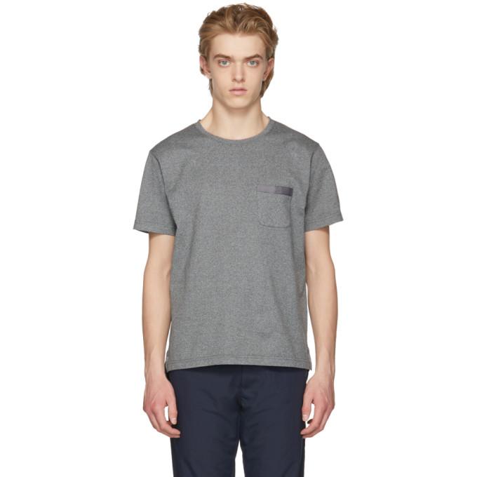 Image of Nanamica Grey Crewneck T-Shirt