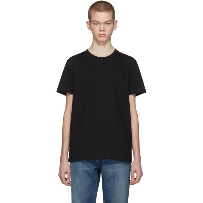 Stella McCartney Black Idol Logo T-Shirt