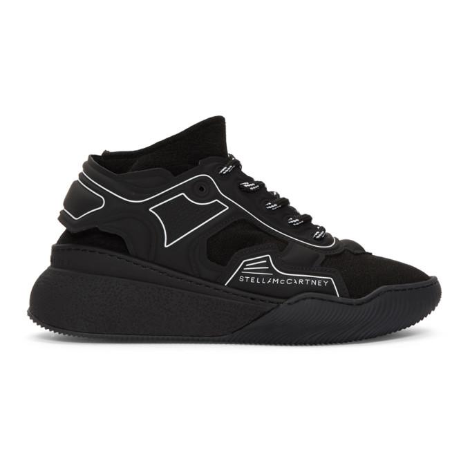 Stella McCartney Black Glueless Sneakers
