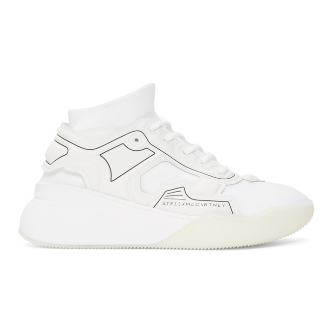 Stella McCartney White Glueless Sneakers