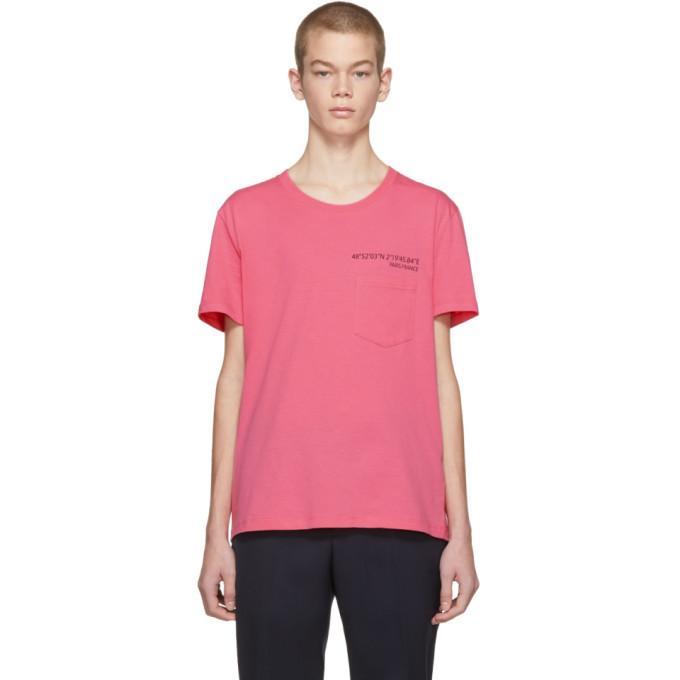 Image of Valentino Pink 'Anywhen' Coordinates Pocket T-Shirt