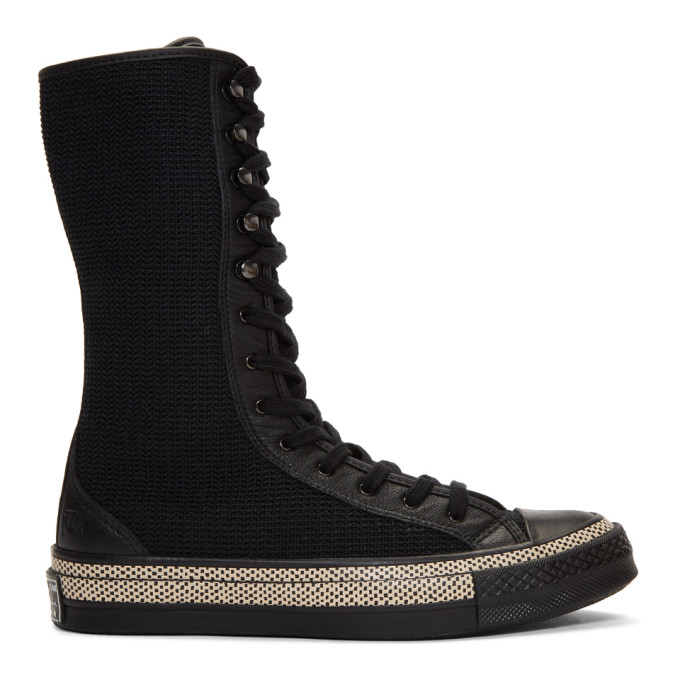 JW Anderson Black Converse Edition Chuck Taylor 70 High-Top Sneakers