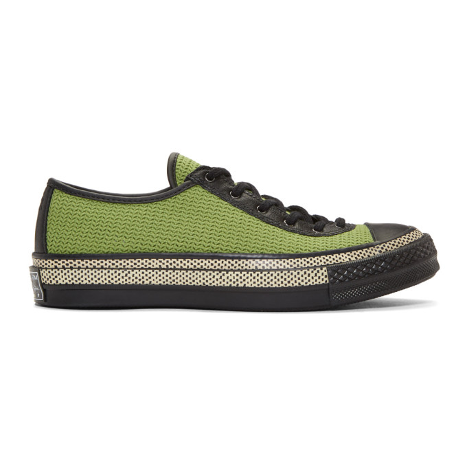 JW Anderson Green Converse Edition Chuck Taylor 70 Ballet Sneakers