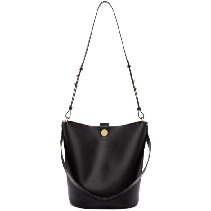 Sophie Hulme Black Large Swing Bag
