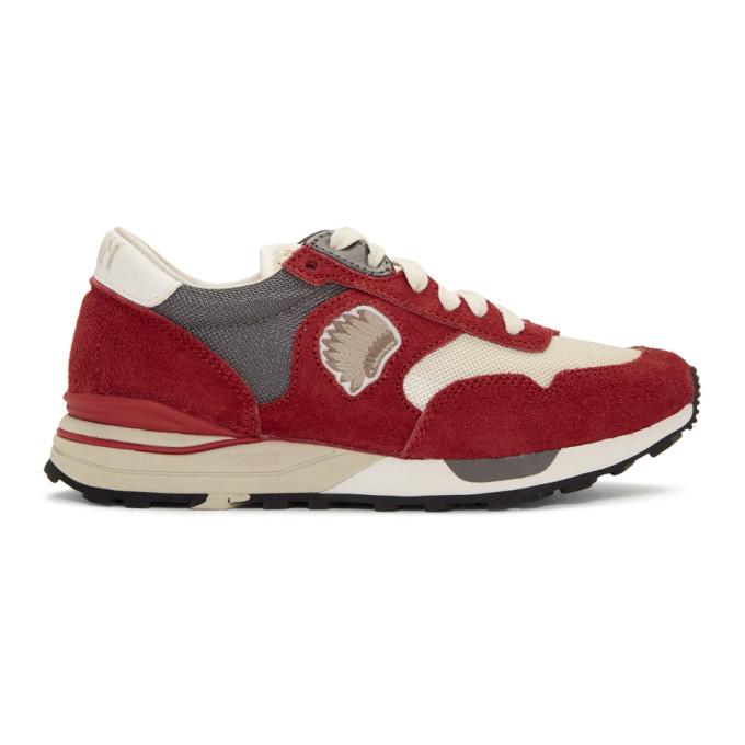 Visvim Red Roland Jogger Sneakers