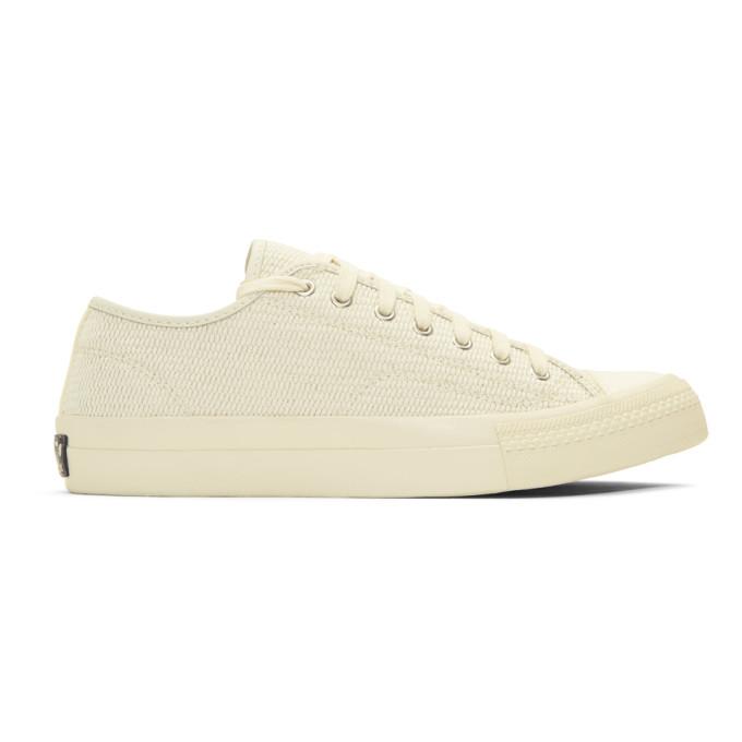 Visvim Beige Skagway Lo Dogi Sneakers