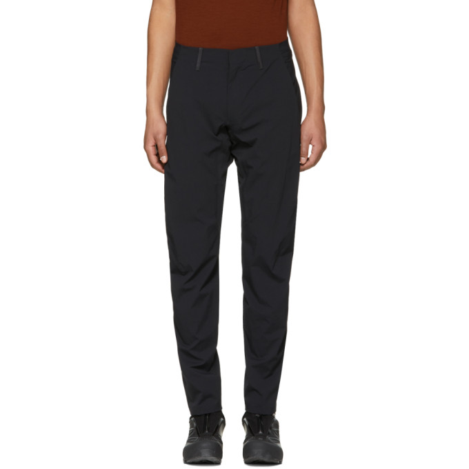 Image of Arc'teryx Veilance Black Convex LT Trousers
