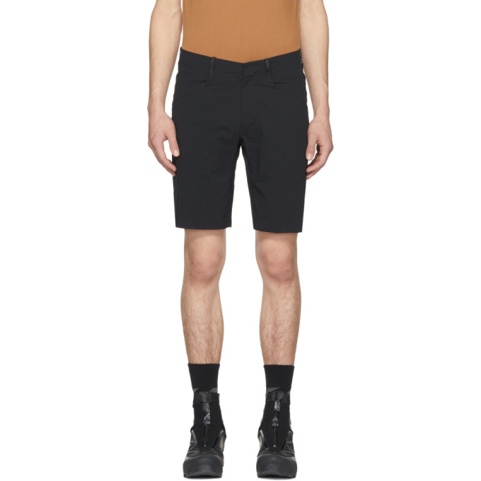 Image of Arc'teryx Veilance Black Voronoli Shorts