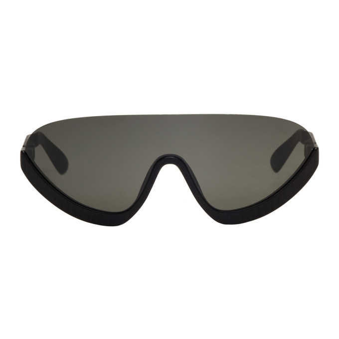 Image of Mykita Black Bernhard Willhelm Edition Blaze MD1 Sunglasses