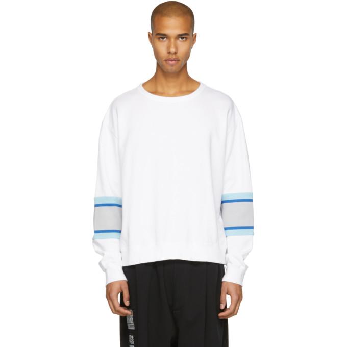 Facetasm White XXL Rib Sweatshirt