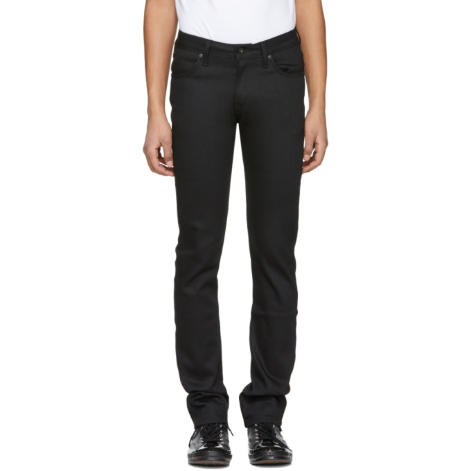 Naked & Famous Denim Black Skinny Guy Jeans