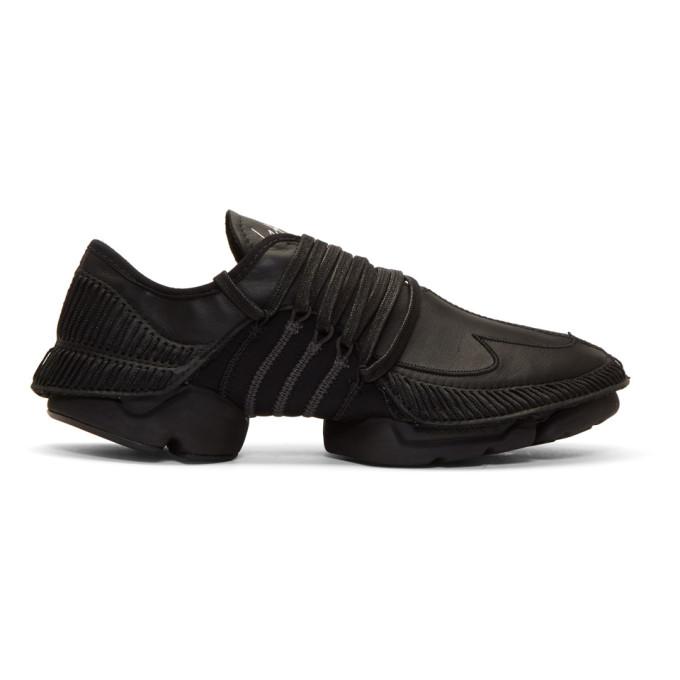 Image of Yohji Yamamoto Black Takusan Sneakers