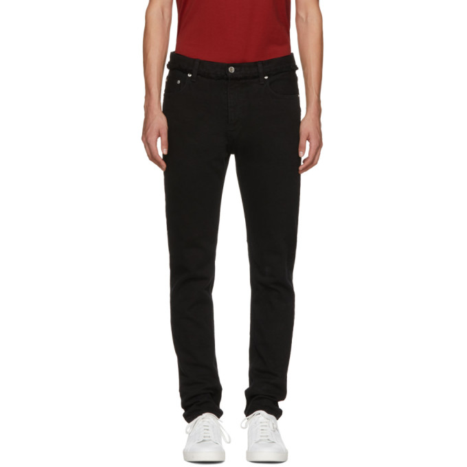 Image of Christian Dada Black Signature Skinny Jeans
