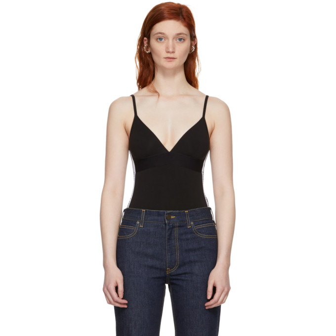 Image of Paco Rabanne Black Triangle Bodysuit